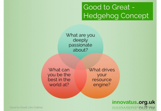 Good to Great  Hedgehog Concept