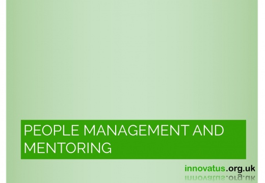 People Management and Mentoring