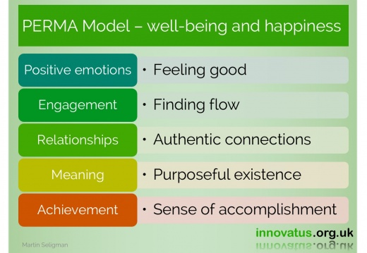 PERMA Model wellbeing and happiness