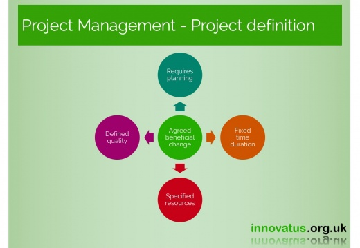 Project Management Project definition