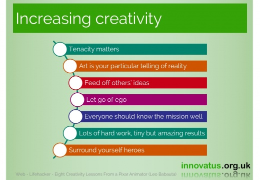 Increasing creativity